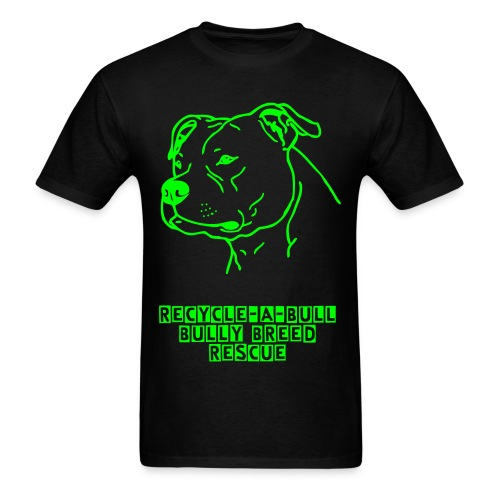 Recycle-A-Bull Bully Breed Rescue - Men's T-Shirt