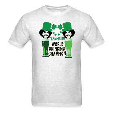 world drinking champion team IRISH st.Patty's day