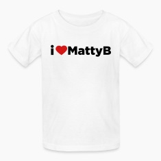 I Heart Matty B mp Kids' Shirts
