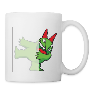 Mugs & Drinkware ~ Coffee/Tea Mug ~ Just For Laughs Victor Hiding on Coffee Mug