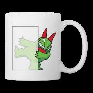 Mugs & Drinkware ~ Coffee/Tea Mug ~ Just For Laughs Victor Hiding on Coffee Mug