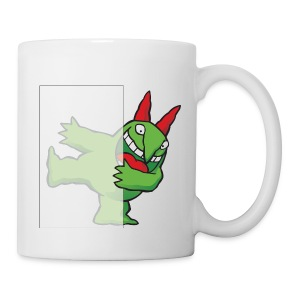 Just For Laughs Victor Hiding on Coffee Mug - Coffee/Tea Mug