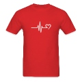 Frequency heart T-Shirts