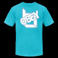 T-Shirts ~ Men's T-Shirt by American Apparel ~ ObeyAlliance Fresh American Apparel T-Shirt !