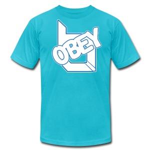 ObeyAlliance Fresh American Apparel T-Shirt ! - Men's Fine Jersey T-Shirt