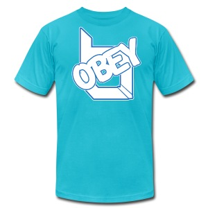ObeyAlliance Fresh American Apparel T-Shirt ! - Men's T-Shirt by American Apparel
