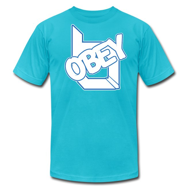 ObeyAlliance Fresh American Apparel T-Shirt !