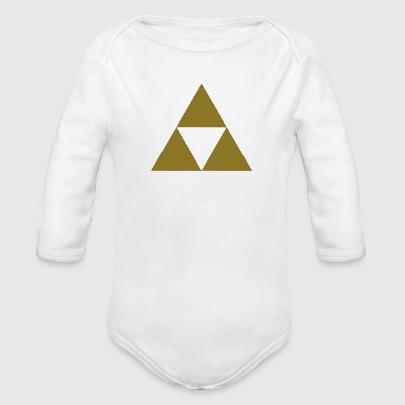 three triangle Baby & Toddler Shirts - Long Sleeve Baby Bodysuit
