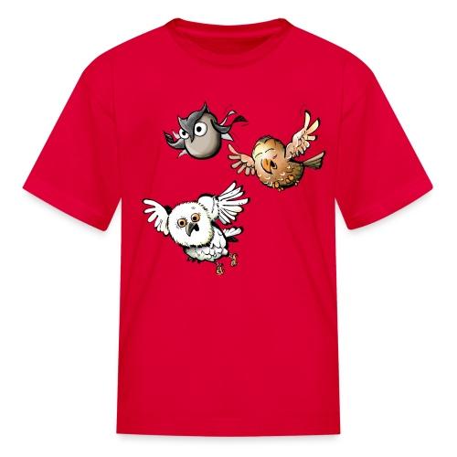 Kids: Mr Owl and Co - Kids' T-Shirt