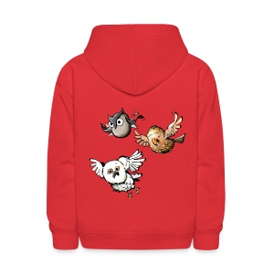 Kids: Mr Owl & Co - Kids' Hoodie