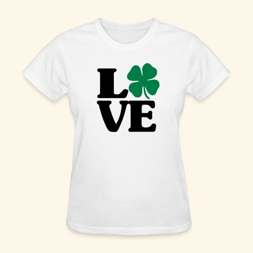 Love Shamrock - Women's T-Shirt