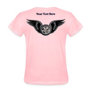 Ladies T Back HWing Custom - Women's T-Shirt