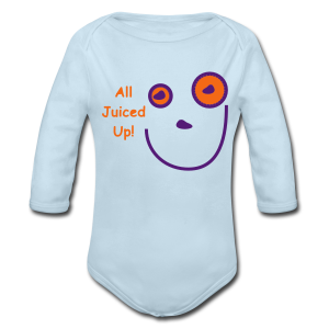 All Jucied Up Let's Play - Long Sleeve Baby Bodysuit
