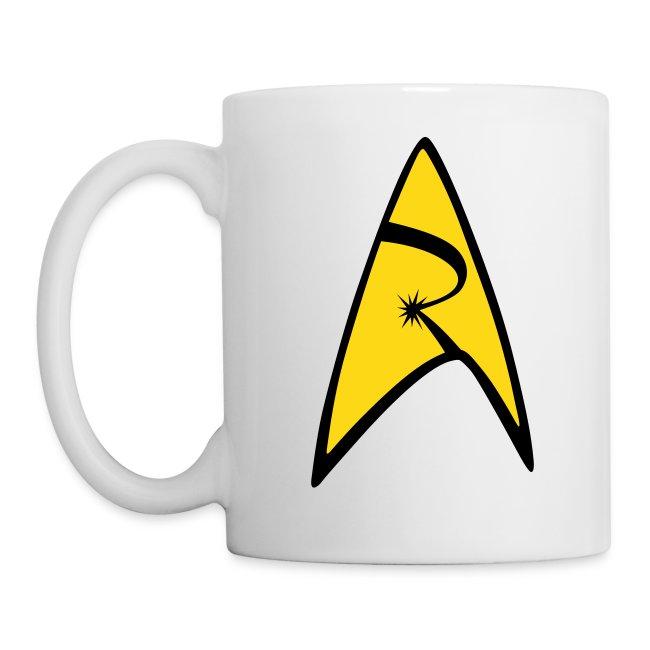 Mission Log Emblem Mug