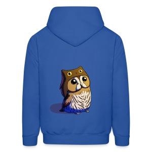 Mens: Little Owl - Men's Hoodie