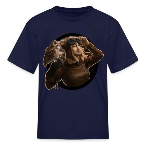Kids: Aviator Sepia - Kids' T-Shirt