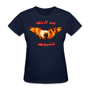 Ladies T Hell on Wheels (Front) - Women's T-Shirt