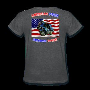 Ladies T Back AmPride AmPower - Women's T-Shirt