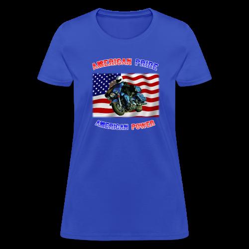 Ladies T Front AmPride AmPower - Women's T-Shirt