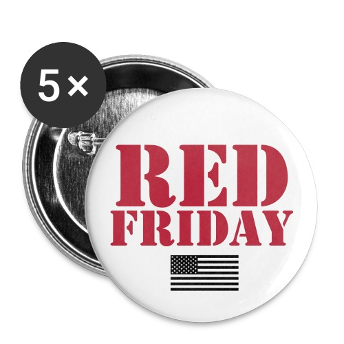 RED FRIDAY PIN - Small Buttons
