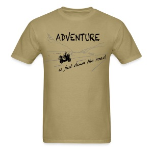 ADV is just down the road - Shirt UNISEX - Men's T-Shirt