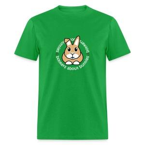'Bonkers About Bunnies' Men's/Unisex T-Shirt - Men's T-Shirt