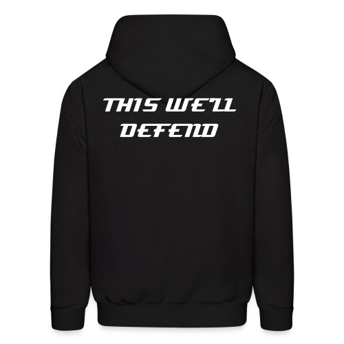 Drill Sergeant,  This We'll Defend - Men's Hoodie