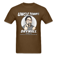 T-Shirts ~ Men's T-Shirt ~ Uncle Tommy's Drywall Service T-Shirt