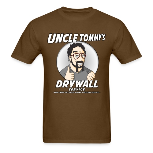 Uncle Tommy's Drywall Service T-Shirt - Men's T-Shirt