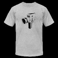T-Shirts ~ Men's T-Shirt by American Apparel ~ cam nizo blue