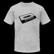 T-Shirts ~ Men's T-Shirt by American Apparel ~ tape black