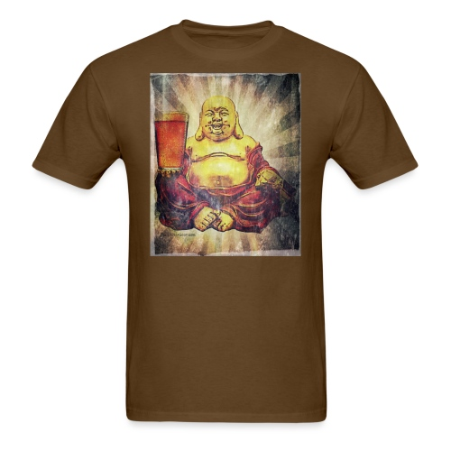 Cosmic Beer Buddha Men's T-Shirt - Men's T-Shirt