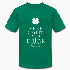 KCCO - ST Patrick's Keep Calm and Drink On T-Shirts