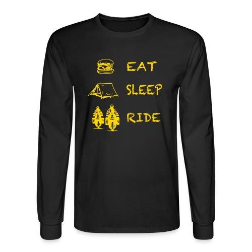 Eat - Sleep - Ride / Longsleeve UNISEX - Men's Long Sleeve T-Shirt
