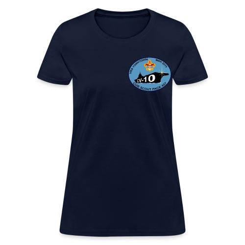 USS Yorktown 457 Visit Women's T-Shirt (CV-10) - Women's T-Shirt