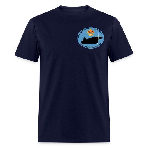 USS Yorktown 457 Visit Men's T-Shirt (Emblem) - Men's T-Shirt