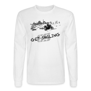 get smiling / Longsleeve UNISEX - Men's Long Sleeve T-Shirt