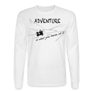 ADV is what you make of it - Longsleeve UNISEX - Men's Long Sleeve T-Shirt