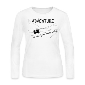 ADV is what you make of it - Longsleeve LADIES - Women's Long Sleeve Jersey T-Shirt
