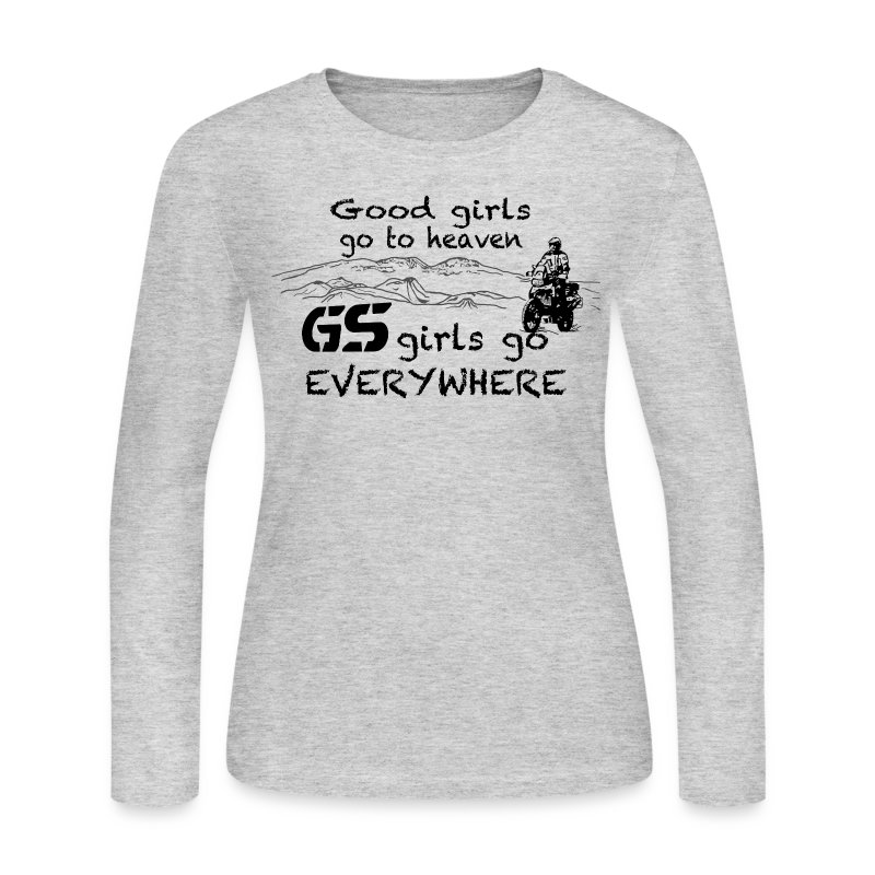 Good girls... GS girls - Longsleeve LADIES - Women's Long Sleeve Jersey T-Shirt