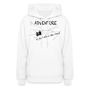 ADV is just down the road - Hoody LADIES - Women's Hoodie