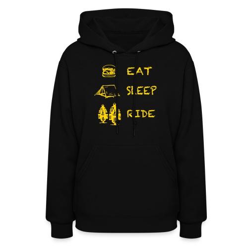Eat - Sleep - Ride / Hoody LADIES - Women's Hoodie