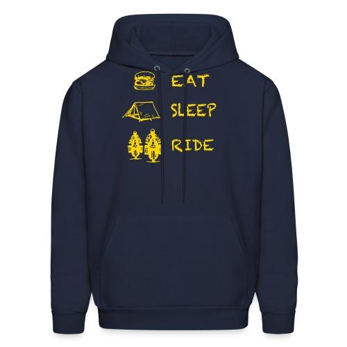 Eat - Sleep - Ride / Hoody UNISEX - Men's Hoodie