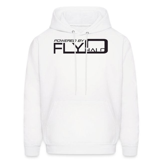 White Powered By Fly Halo Hoodie