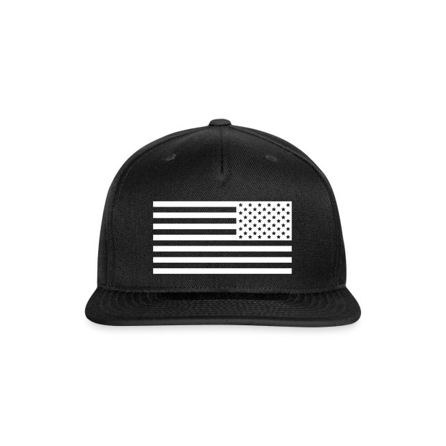 Backwards American Flag SnapBack