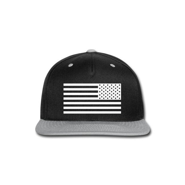 Backwards American Flag SnapBack 97bbb9fb483