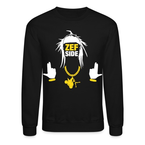 Zef Side Gold Chain 1 - Crewneck Sweatshirt