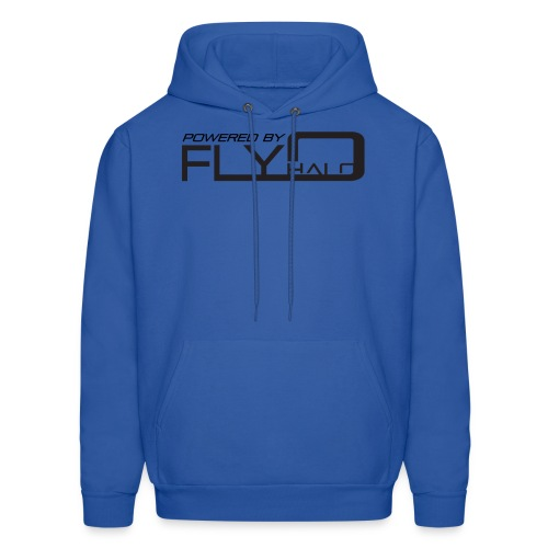 Blue Powered By Fly Halo Hoodie - Men's Hoodie