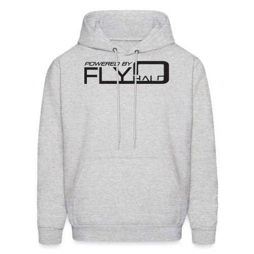 Gray Powered By Fly Halo Hoodie - Men's Hoodie