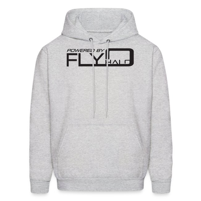 Gray Powered By Fly Halo Hoodie